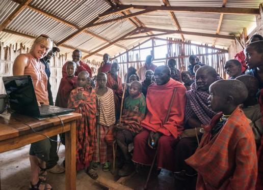 KopeLion gathering, Ngorongoro Conservation Area